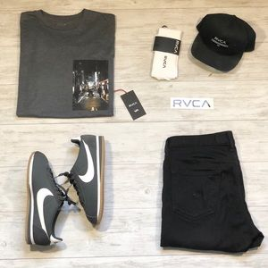 RVCA Stay Curren Tee Shirt